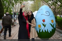 Tehran, Iran - Baharestan - Urban art event to welcome spring - 2016 (1394-1395) - 172