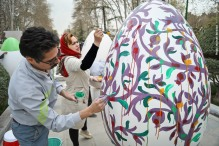 Tehran, Iran - Baharestan - Urban art event to welcome spring - 2016 (1394-1395) - 178