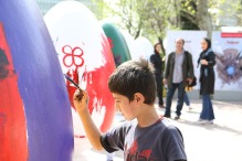 Tehran, Iran - Baharestan - Urban art event to welcome spring - 2016 (1394-1395) - 265