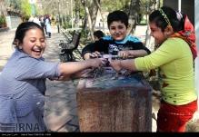 Tehran, Iran - Baharestan - Urban art event to welcome spring - 2016 (1394-1395) - 306