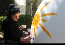 Tehran, Iran - Baharestan - Urban art event to welcome spring - 2016 (1394-1395) - 310