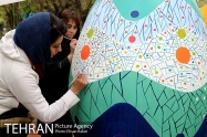 Tehran, Iran - Baharestan - Urban art event to welcome spring - 2016 (1394-1395) - 334