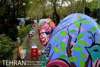 Tehran, Iran - Baharestan - Urban art event to welcome spring - 2016 (1394-1395) - 338