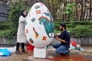 Tehran, Iran - Baharestan - Urban art event to welcome spring - 2016 (1394-1395) - 402