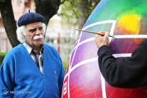 Tehran, Iran - Baharestan - Urban art event to welcome spring - 2016 (1394-1395) - 404