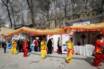 Tehran, Iran - Joint celebration of Chinese New Year and Nowruz at Niavaran Complex - 2016 - 02