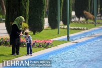 Park-e Shahr (City Park) in spring - Photo: Shayan Mehrabi / Tehran Picture Agency