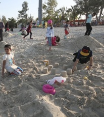 12Hormozgan, Iran - Kish Island - Sand sculptures 05
