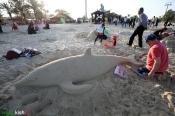 1Hormozgan, Iran - Kish Island - Sand sculptures 02