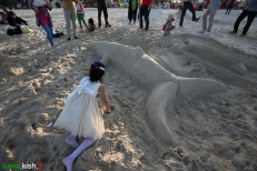 3Hormozgan, Iran - Kish Island - Sand sculptures 08