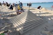 4Hormozgan, Iran - Kish Island - Sand sculptures 19