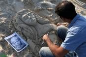 5Hormozgan, Iran - Kish Island - Sand sculptures 17