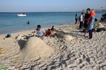 8Hormozgan, Iran - Kish Island - Sand sculptures 14