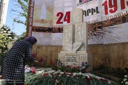 Armenian Genocide Anniversary - 1915-2016 - Commemoration in Iran, Tehran 5