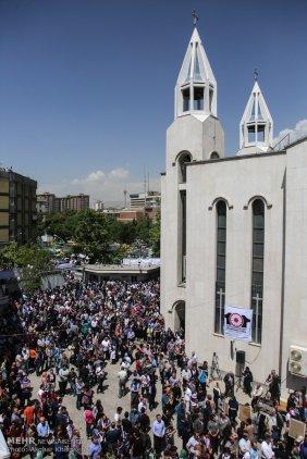 Armenian Genocide Anniversary - 1915-2016 - Commemoration in Iran, Tehran 8