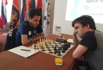 FISU World University Chess Championship 2016 - Ali Faghirnavaz from Iran