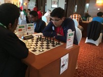 FISU World University Chess Championship 2016 - FM Nima Javanbakht from Iran
