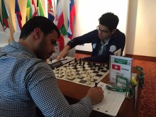 FISU World University Chess Championship 2016 - GM Pouya Idani from Iran