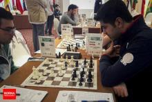 FISU World University Chess Championship 2016 - IM Amirreza Pourramezanali from Iran