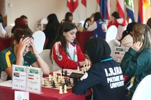 FISU World University Chess Championship 2016 - Iranian chess player 01