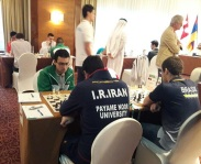 FISU World University Chess Championship 2016 - Iranian chess player 02