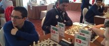 FISU World University Chess Championship 2016 - Iranian chess players IM Amirreza Pourramezanali and GM Pouya Idani