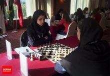 FISU World University Chess Championship 2016 - Iranian chess players WGM Atousa Pourkashiyan and Khalaji Hanieh 01