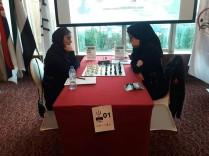 FISU World University Chess Championship 2016 - Iranian chess players WGM Atousa Pourkashiyan and Khalaji Hanieh 02