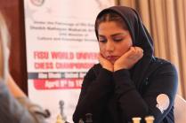 FISU World University Chess Championship 2016 - Khalaji Hanieh from Iran