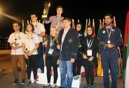 FISU World University Chess Championship 2016 - Team award - Russia (gold), Armenia (silver) and Iran (bronze)