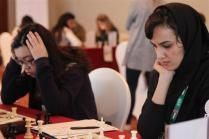 FISU World University Chess Championship 2016 - WGM Mitra Hejazipour from Iran