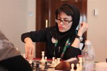 FISU World University Chess Championship 2016 - WIM Ghazal Hakimifard from Iran (silver medalist)