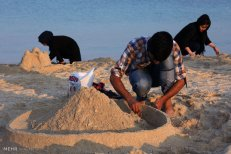 Hormozgan, Iran - Kish Island - Sand sculptures 58