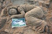 Hormozgan, Iran - Kish Island - Sand sculptures 71