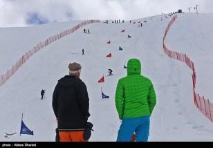 Snowboard competition in Dizin Ski Resort, Iran - April, 2016 (Photo credit: Abbas Shariati / Tasnim News Agency)
