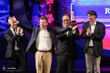 "Best Film Golden Simorgh was awarded to ""Rams"" by Icelandic director Grimu Hákonarson at the 34th Fajr International Film Festival held at Tehran's Vahdat Hall, Iran (Photo credit: Ali Najib / ISCA News)"
