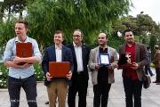 Winners of the 34th Fajr International Film Festival held at Tehran's Vahdat Hall, Iran (Photo credit: Mitra Samavaki / Young Journalists Club)