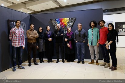 Jokal Festival 2016 - A painting exhibition for students and young artists in Tehran, Iran - 34