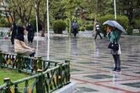 Tehran, Iran - Sudden spring rain in Tehran 01