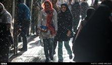 Tehran, Iran - Sudden spring rain in Tehran 05