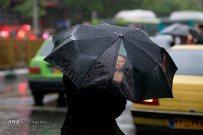 Tehran, Iran - Sudden spring rain in Tehran 13