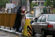 Tehran, Iran - Sudden spring rain in Tehran 15