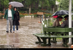 Tehran, Iran - Sudden spring rain in Tehran 17