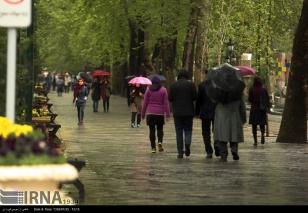Tehran, Iran - Sudden spring rain in Tehran 22
