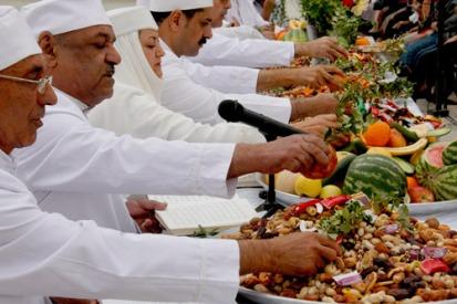 Zoroastrian Farvardinegan Ceremony 1395 (2016) in Iran - Yazd - 54