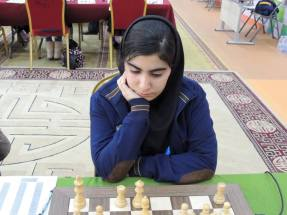 2016 Asian Youth Chess Championship - Alijanzadeh Mohadeseh from Iran - 2