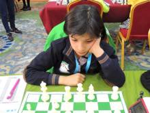 2016 Asian Youth Chess Championship - Fatemeh Mashhadi from Iran - 1