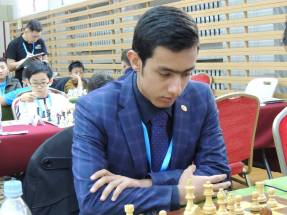 2016 Asian Youth Chess Championship - Mersad Khodashenas from Iran - 1