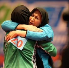 2016 ITTF Asia Olympic Qualification, Hong Kong - Iranian table tennis player Neda Shahsavari secured Olympic spot for Rio 2016 - 01
