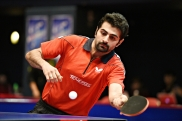 2016 ITTF Asia Olympic Qualification, Hong Kong - Iranian table tennis player Noshad Alamiyan - 03